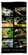 ' Australia Rocks ' Mossman Gorge - North Queensland Beach Towel