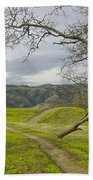 East Ridge Trail Spring Beach Towel