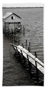Indian River Pier Beach Towel