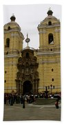 Lima Peru Church Beach Towel