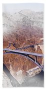Mike O'callaghan Pat Tillman Memorial Bridge Beach Towel