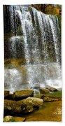 Rock Glen Falls Iphone 6s Beach Towel