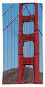 San Fransisco Bay Bridge Beach Towel