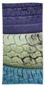 Seventies Tires Beach Towel