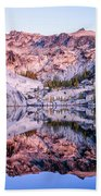 Leprechaun Lake Sunrise Beach Towel
