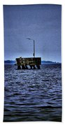 The Dock Of Loneliness Beach Towel