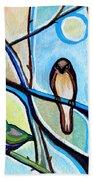 Three Birds Beach Towel