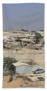 Unrecognized, Beduin Shanty Township  Beach Towel