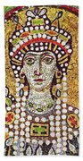 Theodora (c508-548) Beach Towel