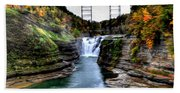 0032 Letchworth State Park Series  Beach Towel