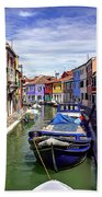 0045 Burano Colors 2 Beach Towel