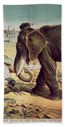 Office Seekers 1885 Beach Towel