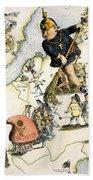 Europe: 1848 Uprisings Beach Towel