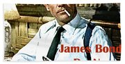 007, James Bond, Sean Connery, Dr No Beach Towel