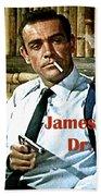 007, James Bond, Sean Connery, Dr No Beach Towel