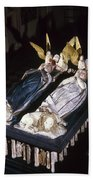 France: Tomb Of John II Beach Towel