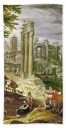 Roman Forum, 16th Century Beach Towel