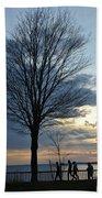 015 April Sunsets Beach Towel