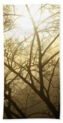 02 Foggy Sunday Sunrise Beach Towel