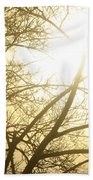 03 Foggy Sunday Sunrise Beach Towel