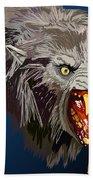 073. Once A Werewolf Always A Werewolf Beach Towel