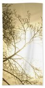 08 Foggy Sunday Sunrise Beach Towel