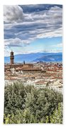 0960 Florence Italy Beach Towel