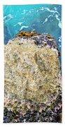 Sea Rocks Beach Towel