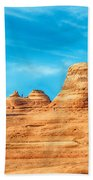 Famous Delicate Arch In Arches National Park Beach Towel