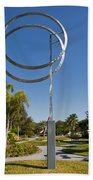 The Vero Beach Museum Of Art In East Central Florida Beach Towel