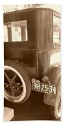 1926 Model T Ford Beach Towel