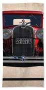 1931 Ford Model A  Beach Towel