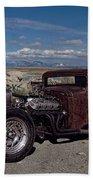 1932 Chevrolet Rat Rod Beach Towel