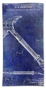 1940 Fireman Ax Patent Beach Sheet