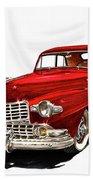 1946 Lincoln Continental Mk I Beach Towel