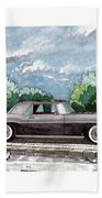 1956  Lincoln Continental Mk II Beach Towel