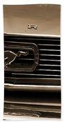 1966 Ford Mustang  Beach Towel