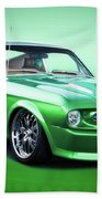 1968 Ford Mustang Fastback I Beach Towel