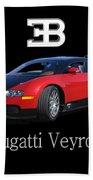 2010 Bugatti Veyron Beach Towel