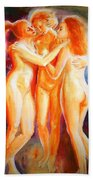 3 Graces Beach Towel