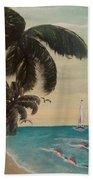 3 Palms Beach Towel