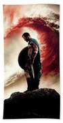 300 Rise Of An Empire 2014 Beach Towel