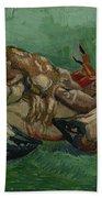 A Crab On Its Back Paris, August-september 1887 Vincent Van Gogh 1853 - 1890 Beach Sheet
