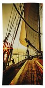 A Day On The Lake Beach Towel