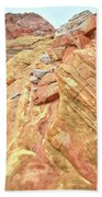 Above Wash 3 In Valley Of Fire Beach Towel