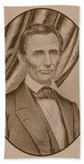 Abraham Lincoln Circa 1860  Beach Towel