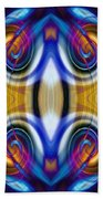 Abstract 1 Beach Towel