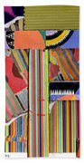 Abstract Collage Beach Towel