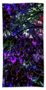 Abstract Trees 291 Version 3 Beach Towel
