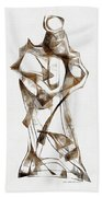 Abstraction 2924 Beach Towel